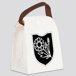 22nd SS Division Logo Canvas Lunch Bag