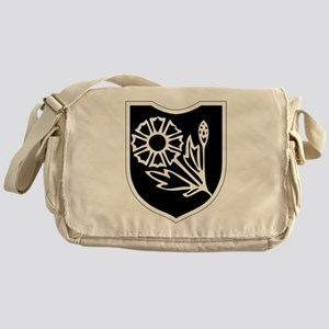 22nd SS Division Logo Messenger Bag