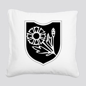 22nd SS Division Logo Square Canvas Pillow
