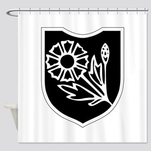 22nd SS Division Logo Shower Curtain