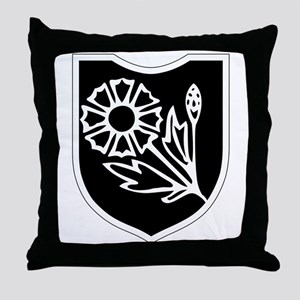 22nd SS Division Logo Throw Pillow