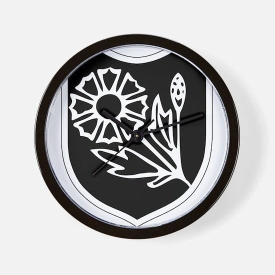 22nd SS Division Logo Wall Clock