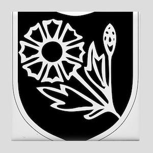 22nd SS Division Logo Tile Coaster