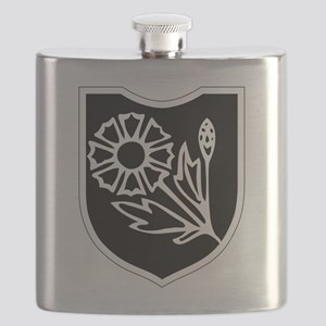 22nd SS Division Logo Flask