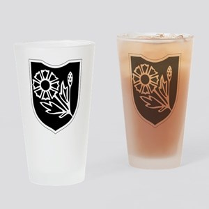 22nd SS Division Logo Drinking Glass