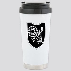 22nd SS Division Logo Stainless Steel Travel Mug
