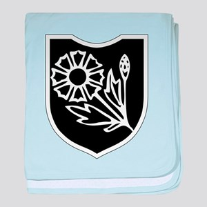 22nd SS Division Logo baby blanket