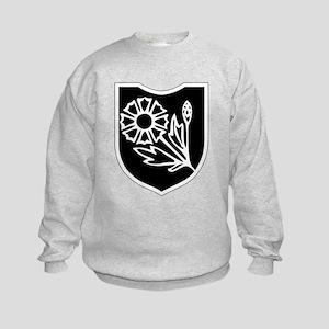 22nd SS Division Logo Kids Sweatshirt