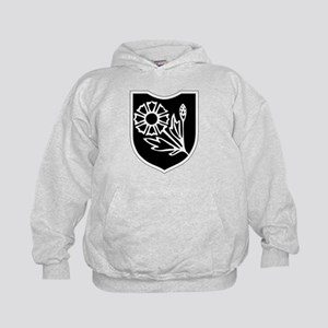22nd SS Division Logo Kids Hoodie