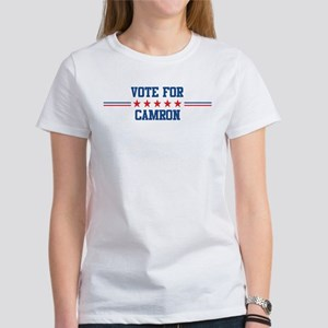 Vote for CAMRON Women's T-Shirt