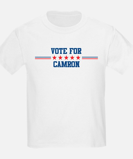 Vote for CAMRON Kids T-Shirt