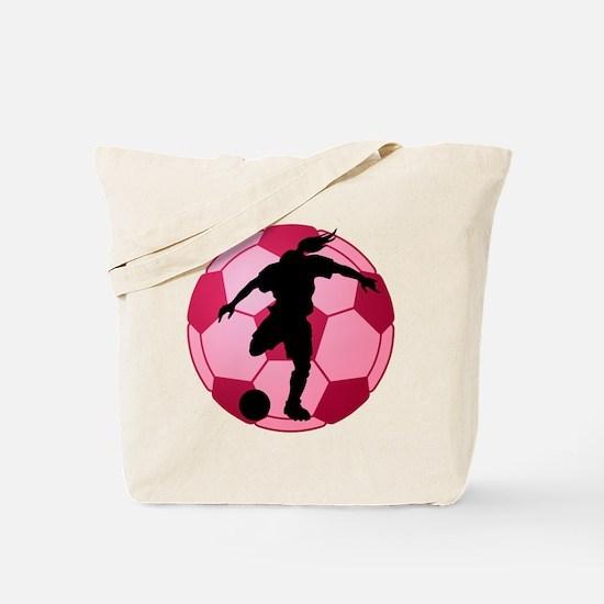 soccer ball(woman) Tote Bag
