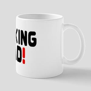 BARKING MAD! Mug