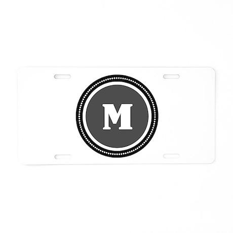 Gray Aluminum License Plate