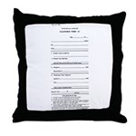Clearance Form A Throw Pillow