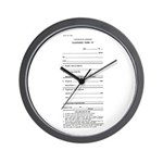 Clearance Form A Wall Clock