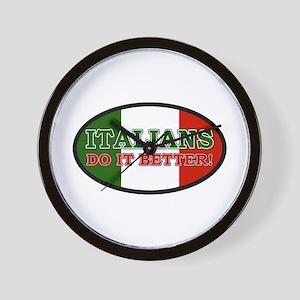 Italians do it better! Wall Clock