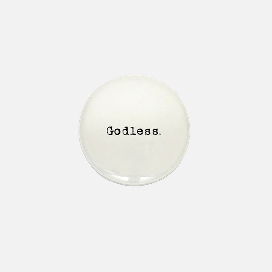 Godless Logo Mini Button