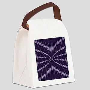 Purple Fantasy Canvas Lunch Bag