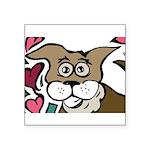 Puppy Love - Valentines 2013 Square Sticker 3
