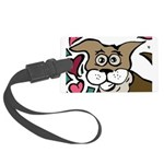 Puppy Love - Valentines 2013 Large Luggage Tag