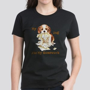 Cavalier Ate Homework T-Shirt