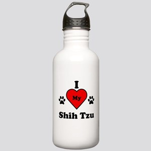 I Heart My Shih Tzu Stainless Water Bottle 1.0L