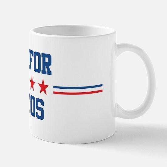 Vote for SANTOS Mug