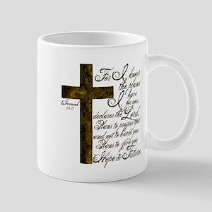 Plan of God Jeremiah 29:11 Mug