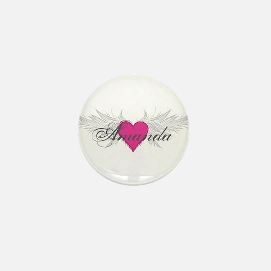 My Sweet Angel Amanda Mini Button