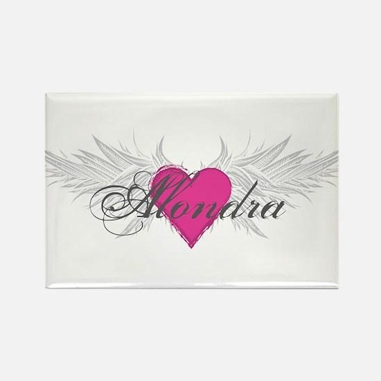 My Sweet Angel Alondra Rectangle Magnet (100 pack)