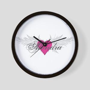 My Sweet Angel Alondra Wall Clock