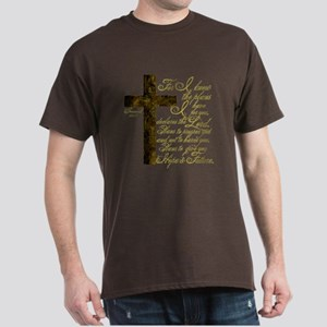 Plan of God Jeremiah 29:11 Dark T-Shirt