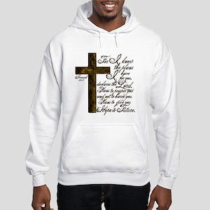 Plan of God Jeremiah 29:11 Hooded Sweatshirt