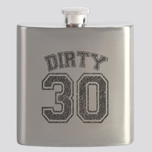 Dirty 30 Speckled Flask
