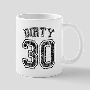 Dirty 30 Speckled Mug