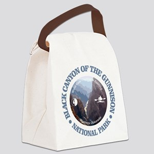Black Canyon of the Gunnison Canvas Lunch Bag