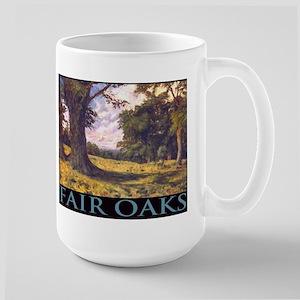 Fair Oaks Country Scene Large Mug