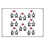 Penguins In Love Banner