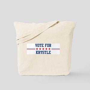 Vote for KRYSTLE Tote Bag