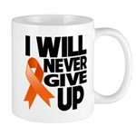 Never Give Up Leukemia Mug