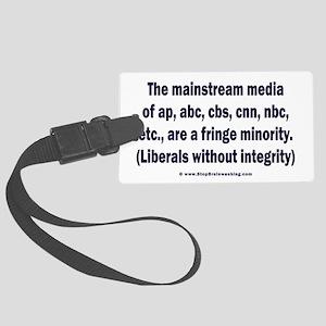 The media are the fringe minority Large Luggage Ta