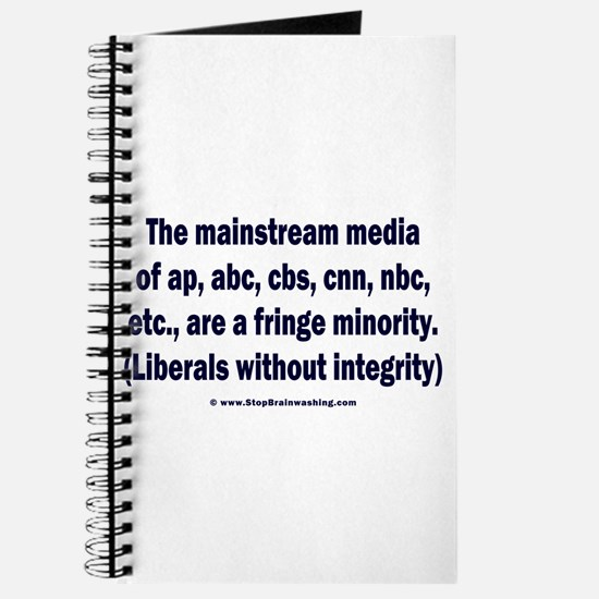 The media are the fringe minority Journal