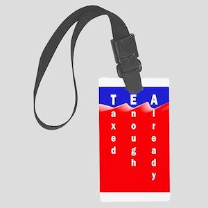 2Sided Media are Fringe back, tea on front Large L