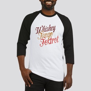 Whiskey Tango Foxtrot Vintage Baseball Jersey