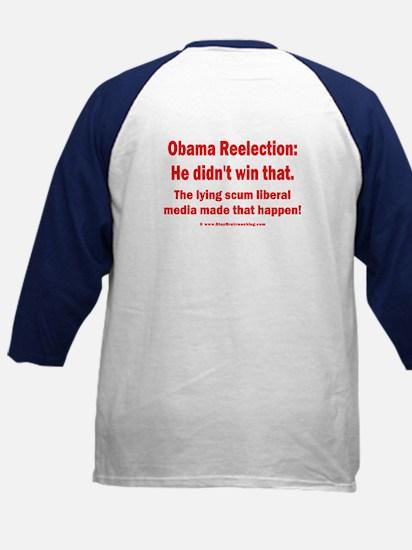 2sided Obama didn't win that back Kids Baseball Je