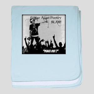 Edgar Allan Poetry Slam baby blanket