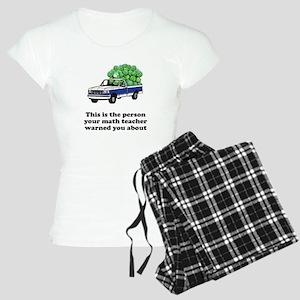 Person math teacher warned Women's Light Pajamas