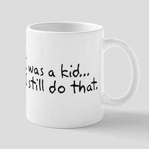 When I was a kid Mug
