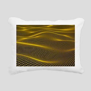Graphene - Rectangular Canvas Pillow